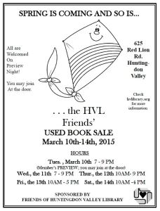 FOL Spring Book Sale 2014