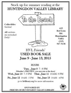 Summer 2015 Book Sale