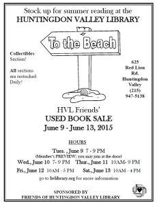 Summer 2015 Book Sale