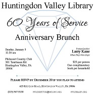 60th Anniversary Brunch with Larry Kane!