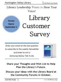 LibrarySurveyFlyer