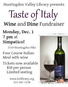 Taste of Italy flyer