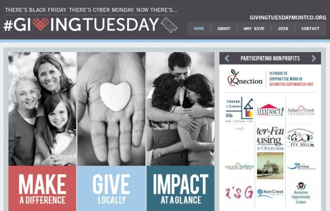 Small Business Saturday and Giving Tuesday