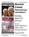 Senior Crime March