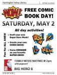 May 2 Comic Book Day
