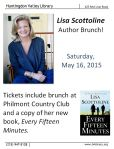 May 16 Sold Out Lisa Scottoline Brunch