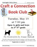 May 19 Craft a connetion bookclub