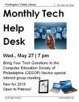 May 27 Tech Help!