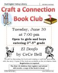 """Craft a Connection Book Club reads """"El Deafo"""" by CeCe Bell"""